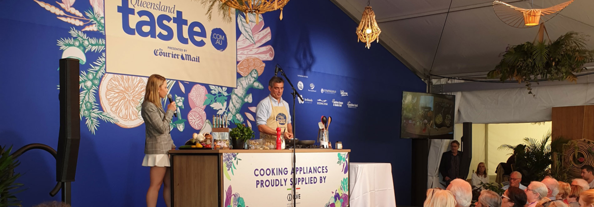 Bruno Loubet at Regional Flavours