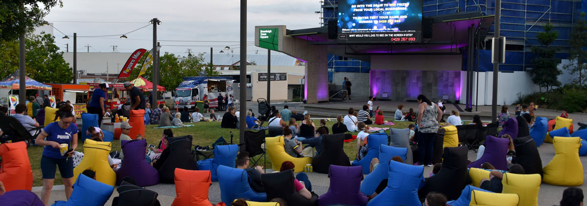 Beenleigh Town Square Big Screen Launch