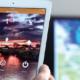 Logan Early Warning App displayed on an iPad
