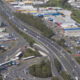 Aerial view of Springwood and Underwood including M1