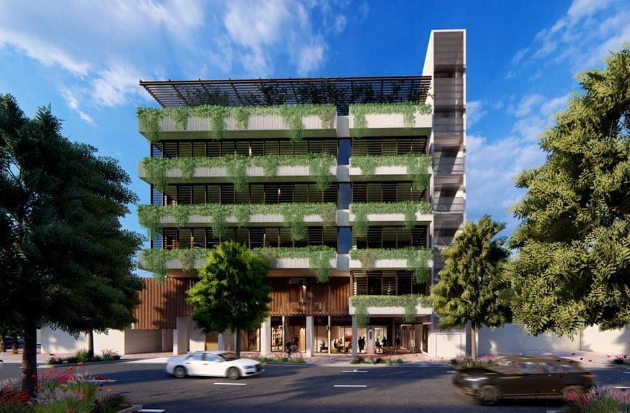 Artists impression of The York building in Beenleigh