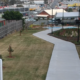 Shared concrete pathway in Springwood