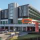 Artist render of Logan Hospital Expansion