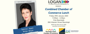 Event banner - Combined Chamber of Commerce business lunch