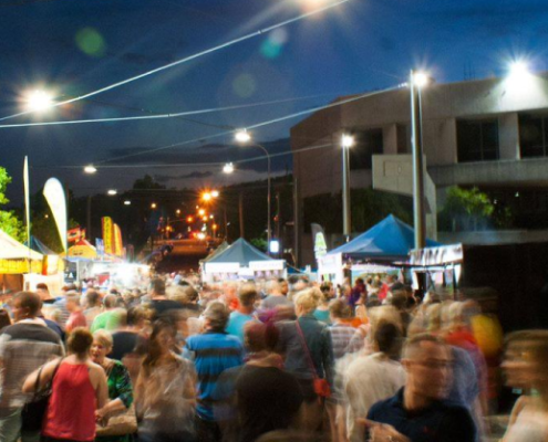 Action photo of Beenleigh Town Square Night Markets