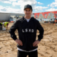 LSKD CEO Jason Daniel at the site of his new headquarters building in Loganholme
